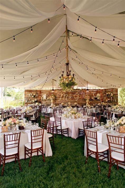 35 Rustic Backyard Wedding Decoration Ideas   Wedding