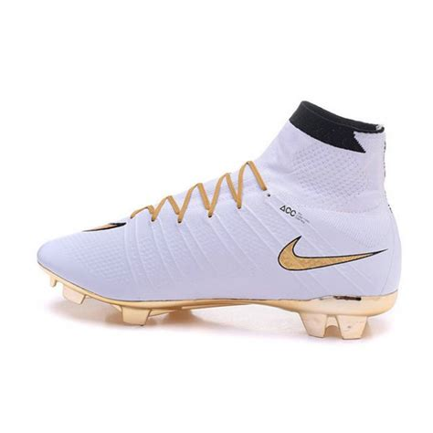 new nike boots new nike mercurial superfly iv fg soccer boots gold white