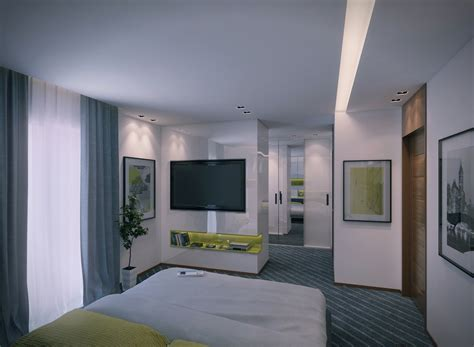 contemporary apartment design ideas  mahmoud keshta roohome