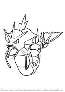 How To Draw For Learn How To Draw Gyarados From Go Go