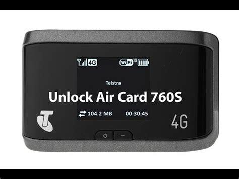 how to make air card unlock wireless air card 760s