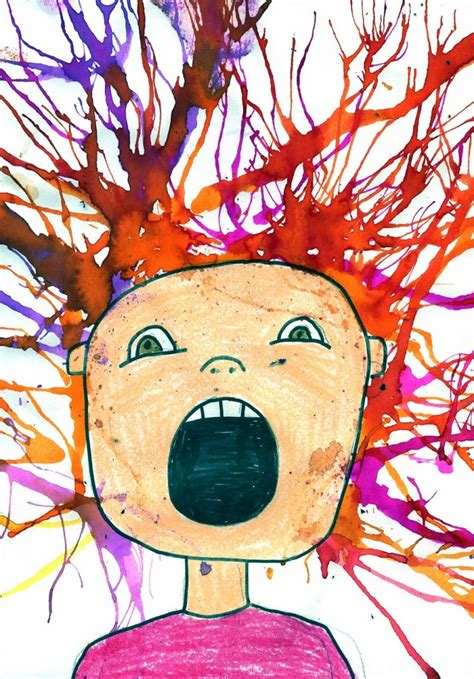 printable art projects for elementary students scream art project art projects for kids