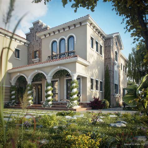 tuscan villa picture   day