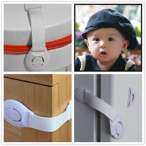 Kitchen Cupboard Child Safety Catch - toddler baby child safety lock catch cabinet drawer