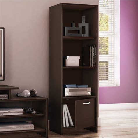 south shore step 1 shelf bookcase south shore step one shelf bookcase in chocolate 3159652
