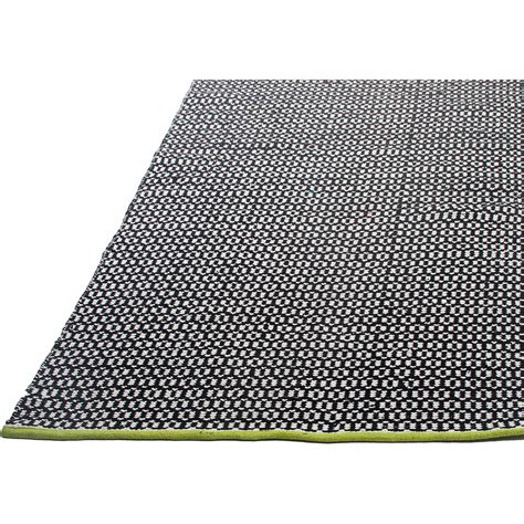 Woven Area Rugs Fab Rugs Estate Woven Black Indoor Outdoor Area Rug