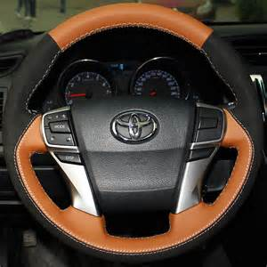Steering Wheel Covers For Cars For Toyota 2010 2013 Car Steering Wheel Cover