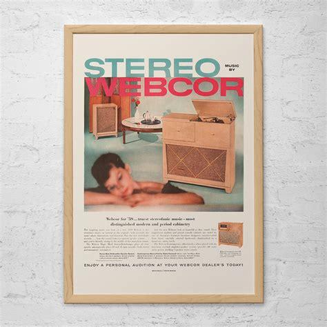 ad console vintage stereo console ad retro record player ad lp