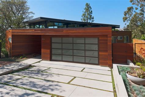 modern garages modern garage home plant design idea with glass door