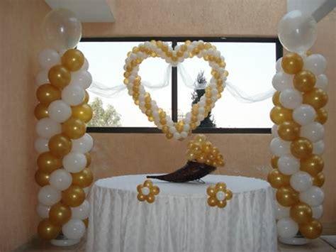 decoracion de boda con globos como decorar una boda con globos