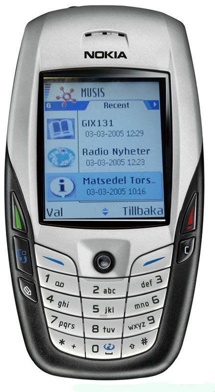 Nokia 6600 Symbian nokia 6600 actual size image