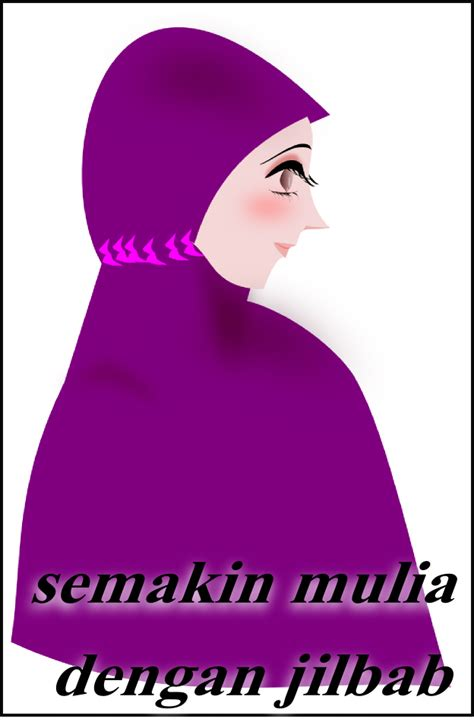 Gambar Kartun Jilbab kartun ikhwan akhwat laa tahzan