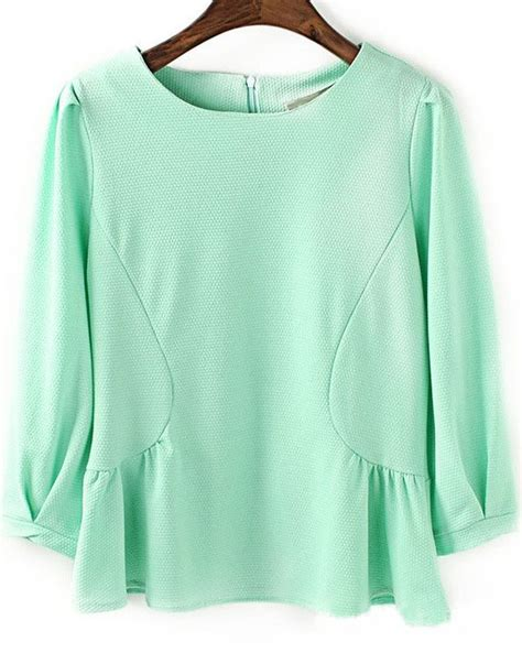 30753 Chiffon Blouse Green 17 best images about blouses on sleeve lace chiffon and