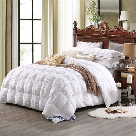duck down comforter high quality polyester white duck down comforter model 1