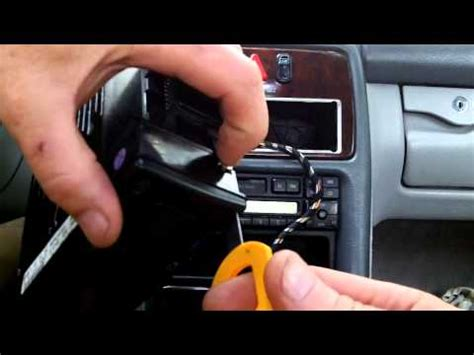 how to replace base ac control in a 1994 chevrolet 3500 mercedes w208 w210 climate control light bulb replacement