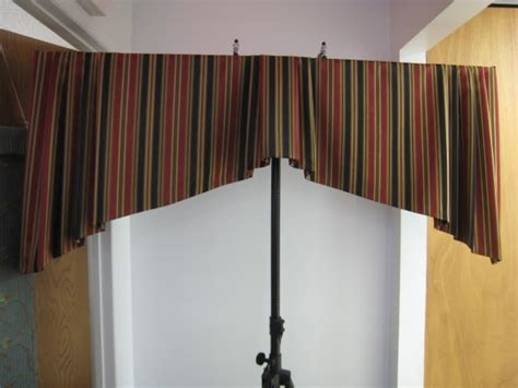 Tapered Valance leatherwood design co tapered box pleat valance