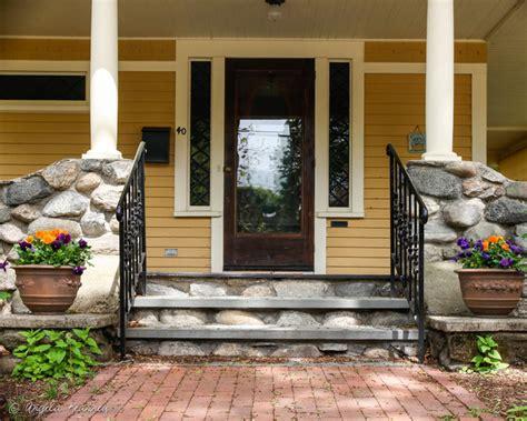 hillside farmhouse farmhouse entry boston by hillside garden with gazebo terraced patios