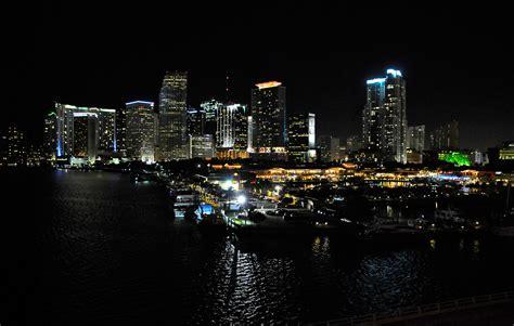 miami city skyline at night miami night skyline