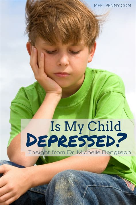 my is depressed is my child depressed recognizing childhood depression meet