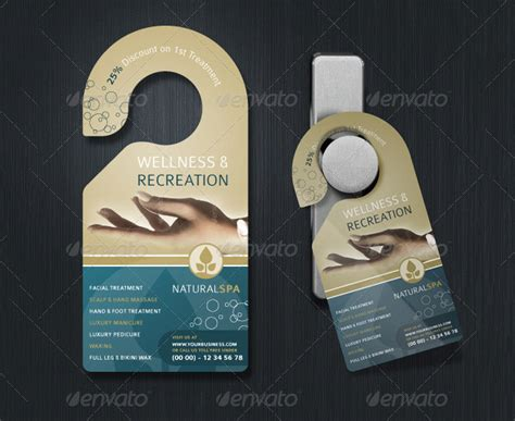 door hanger template free premium templates