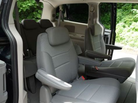 stow and go seating vehicles buy used dodge grand caravan se stow n go seats 3rd row