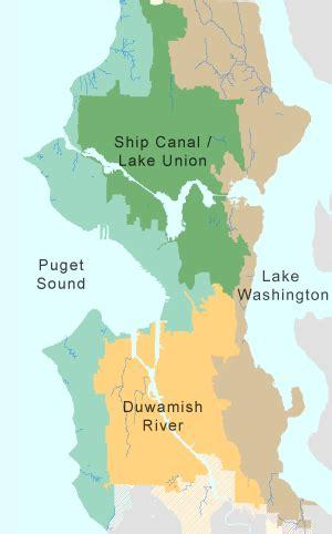 seattle utility map watersheds seattle utilities