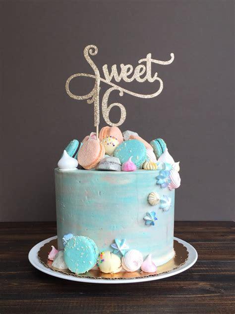 Sweet 16 Cakes by 12 Stylish Sweet 16 Ideas