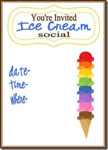 believing boldly ice cream social free printable