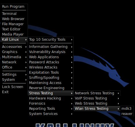 kali linux ddos attack tutorial kali linux tutorial how to ddos wifi with mdk3 kali