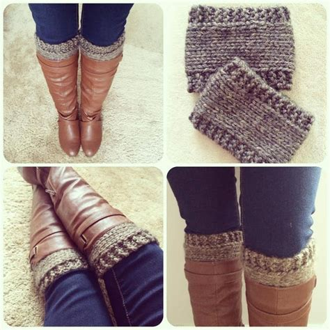 knitted boot cuffs pattern free pattern knitted boot cuffs revised version