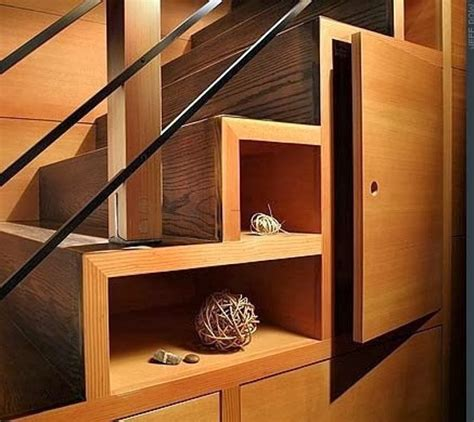 stairs storage refresheddesigns living small make the most of your