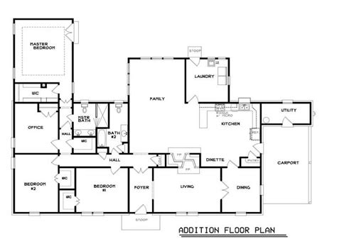 home addition blueprints ranch style homes floor plans ranch home floor plans
