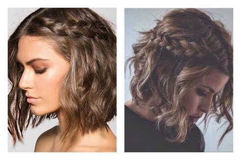 peinados para pelo corto con trenzas peinados con trenzas para pelo corto peinadoscon