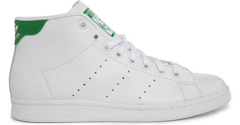 Adidas Originals Stan Smith Clean Leather Trainers S79465 Grey Shoes 3 adidas originals stan smith leather mid top sneakers in white for lyst