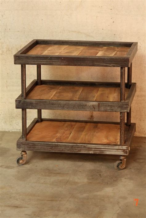 industrial couches industrial furniture industrial dessert trolley in wood