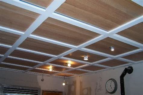 ceiling sound deadening i wouldn t mind doing something like coffered ceiling
