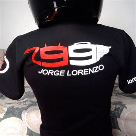 Kaos Moto Gp Jorge Lorenzo 02 shirts happens kaos jorge lorenzo 99 black and white