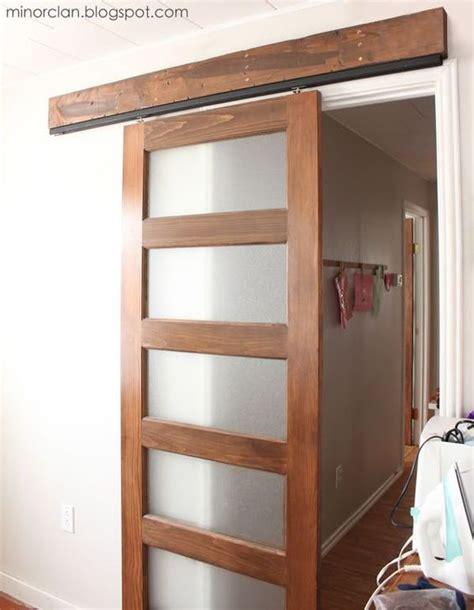 Creative Diy Sliding Doors Tutorials Pocket Doors Pocket Barn Door