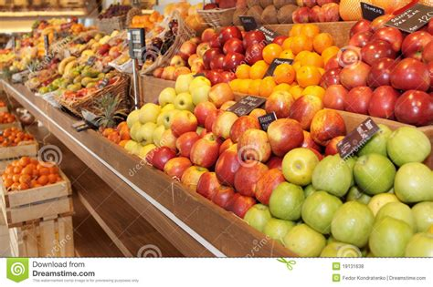 Shelf Of Fruit by Shelf With Fruits Royalty Free Stock Photos Image 19131638