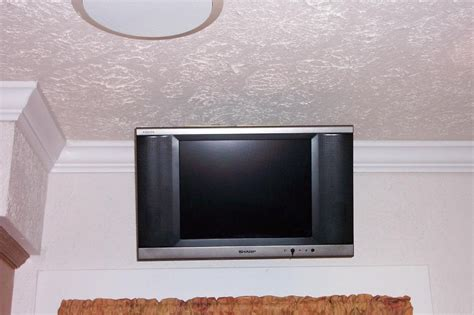 under kitchen cabinet tv mount best under cabinet tv mount kitchen cabinets