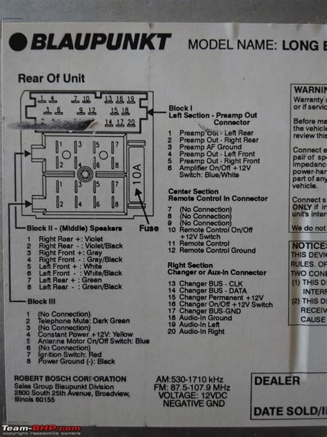 blaupunkt wiring diagram wiring diagram