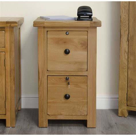 Two Drawer Filing Cabinet With Lock by Original Rustic Two Drawer Filing Cabinet Locks Solid Oak