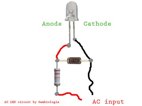 diode led circuit ledison 1