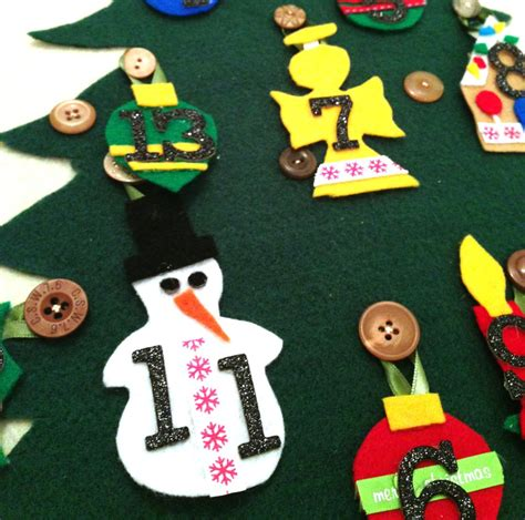 how to make a advent calendar how to make an advent calendar out of felt easy