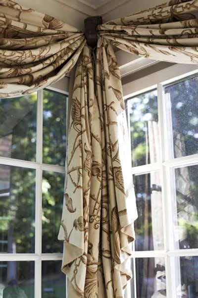 Curtains Corner Windows Ideas Corner Window Treatment Idea Misc