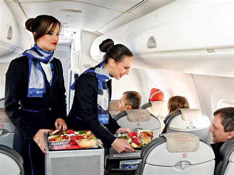 Cabin Crew International Airlines by Montenegro Airlines Offers Passengers World Class
