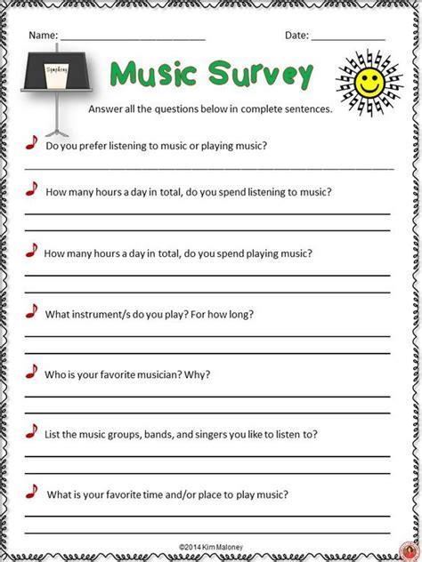 music interest surveys student the o jays and backgrounds - Fun Surveys