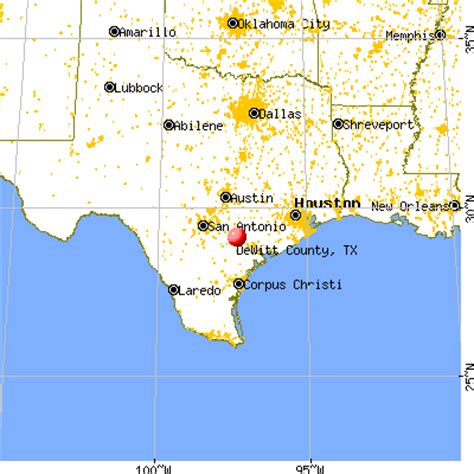 dewitt county texas map dewitt county texas detailed profile houses real estate cost of living wages work