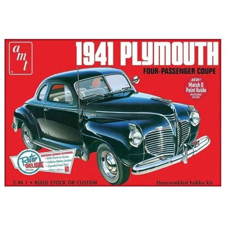 plymouth car models 1941 plymouth coupe car model kit