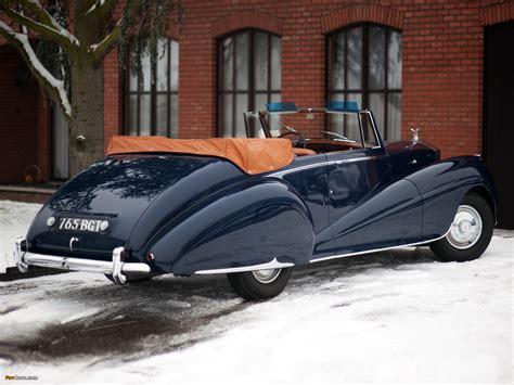 roll royce car 1950 1950 rolls royce silver dawn information and photos